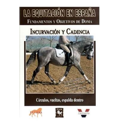Dvd: Equitación en España Incurvación Y Cadencia