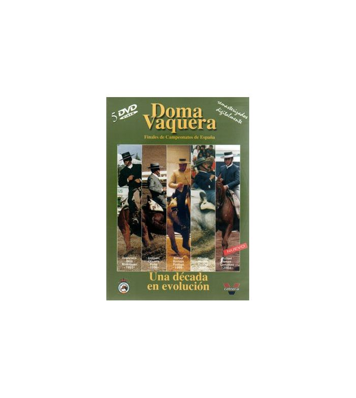 Dvd: Doma Vaquera una Década en Evolución(Pack)