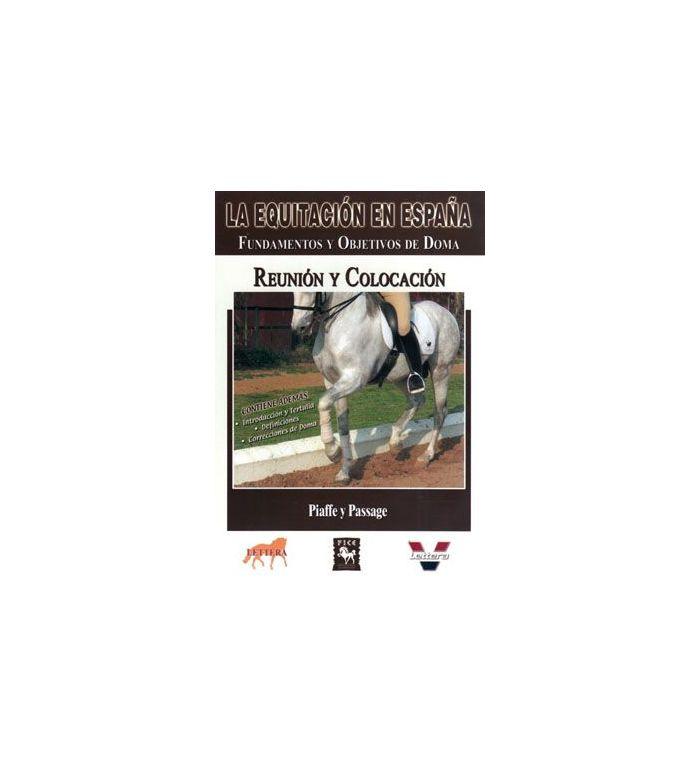 Dvd: Equitación en España Reunión y Colocación