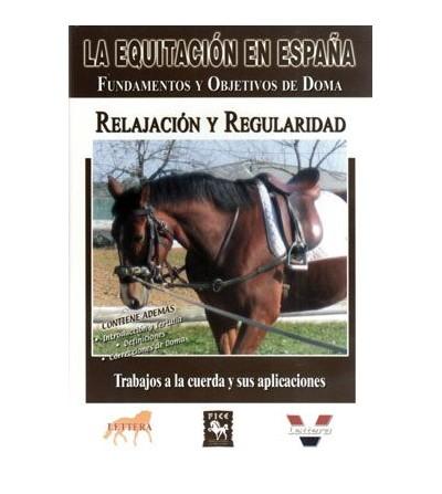 Dvd: Equitación en España Relajación y Regularidad