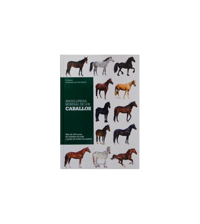 Libro: Enciclopedia Mundial Caballos (De Vecchi)