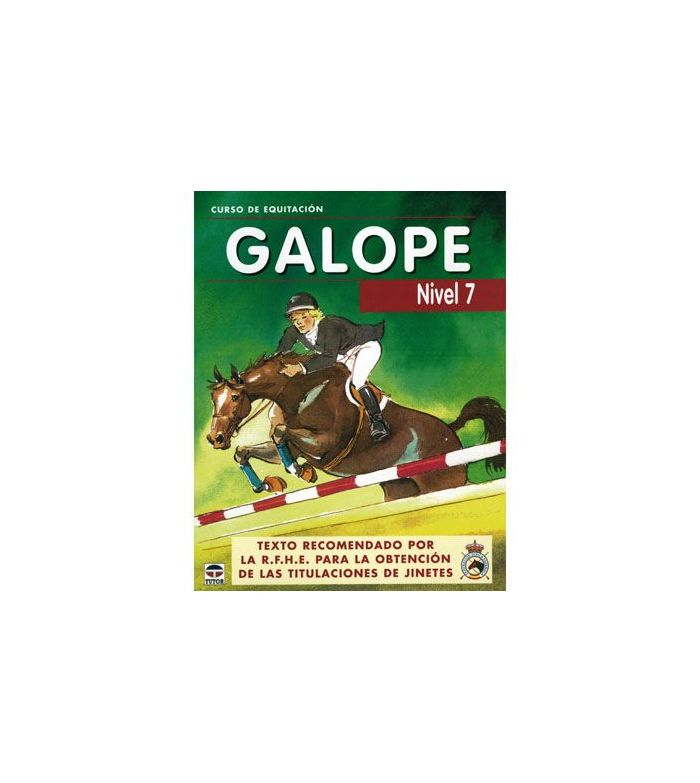 Libro: Curso Equitación Galope Nº 7
