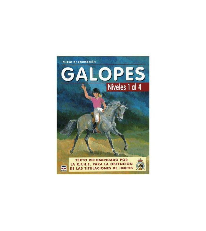 Libro: Curso Equitación Galope Nº 1 a 4