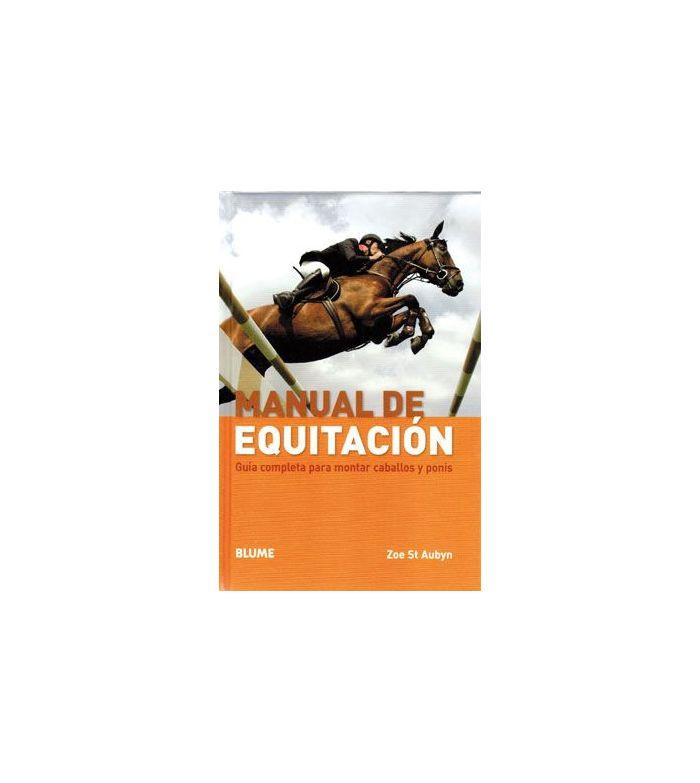 Libro: Manual de Equitación (Zoe St.Aubyn)