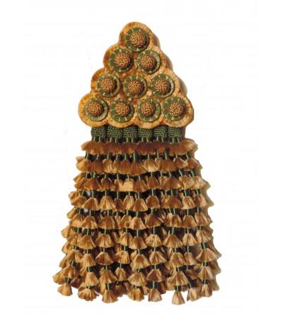 Mosquero de Seda Oro/Verde Premiun