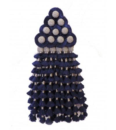 Mosquero de Azul Marino/Plata Tradicional