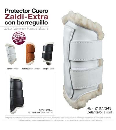 Protector Zaldi Extra Cuero y Borreguillo Mano