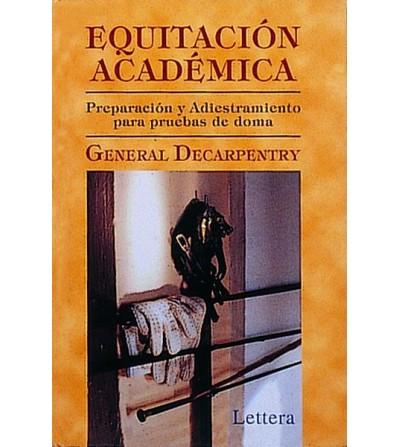 Libro: Equitación Académica (G. Decarpentry)