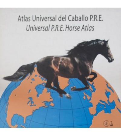 Libro: Atlas Universal del Caballo Pura Raza Española (Estuche),