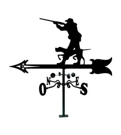 Veleta Cazador con Escopeta