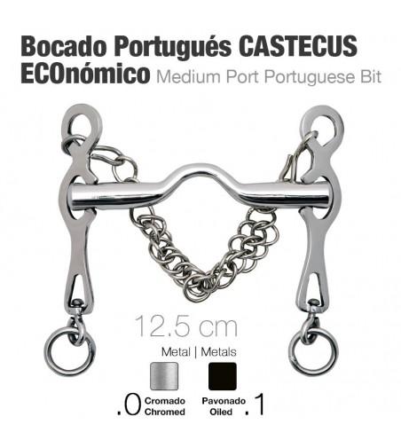 Bocado Portugués Castecus Económico Cromado