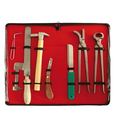 Maletín para Herrador 8 herramientas