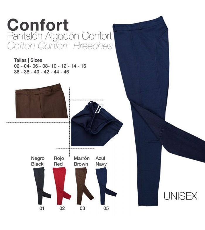 Pantalón de Algodón Confort Unisex