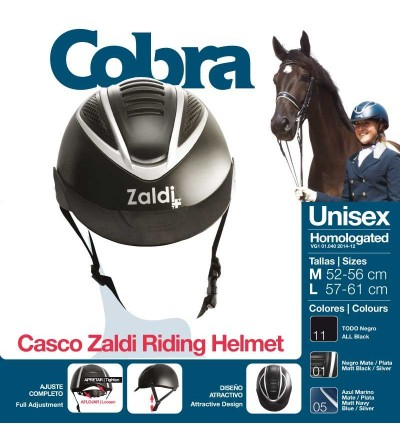 Casco de Montar Cobra Rck6201