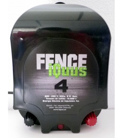 Pastor iQuus Fence Red 220v 4 Julios