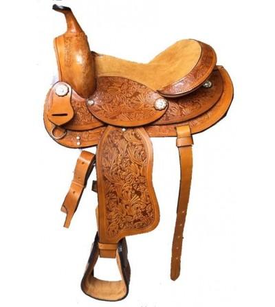 Silla Western Peeper Cuero
