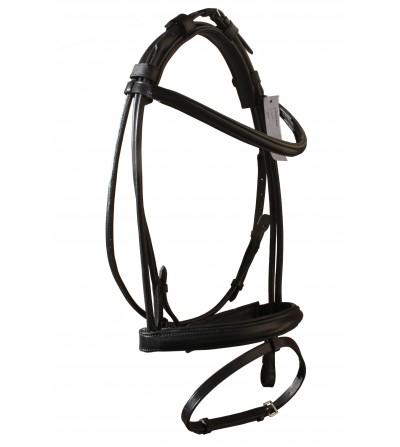 Cabezada Inglesa iQuus Skyline Roller (Tubo)