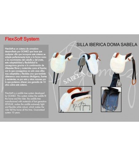 Silla Española Ibérica Doma Sabela Completa