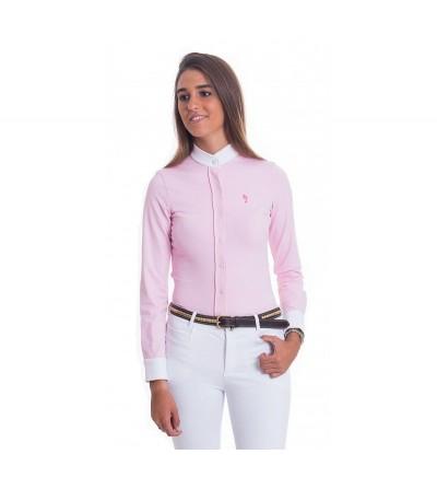 Camisa Competición Mujer Lycra Rosa
