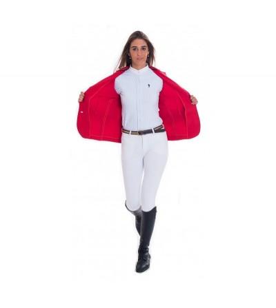 Chaqueta Concurso Mujer Rojo Interior Rojo