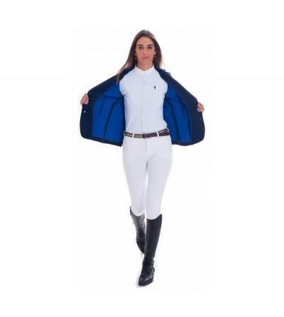 Chaqueta Concurso Mujer Azul Interior Azulón