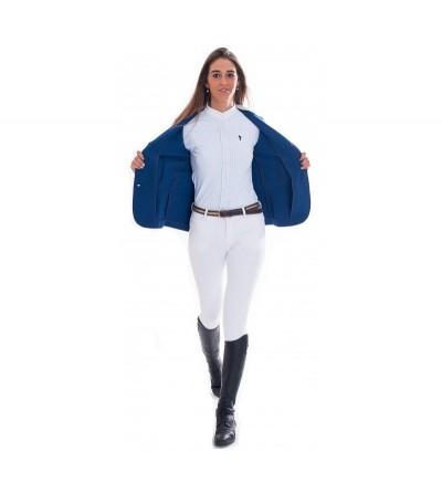 Chaqueta Concurso Mujer Azul Interior Azul Royal