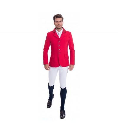 Chaqueta Concurso Hombre Roja Interior Rojo