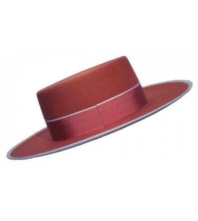 Sombrero Cordobés Cañero Lana 180 grs Terracota b48f8820297