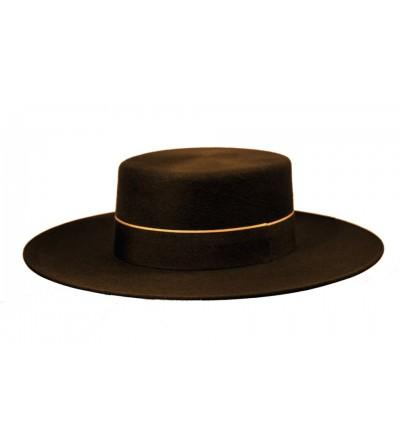 Sombrero Cordobés Cañero Lana 180 grs Marrón