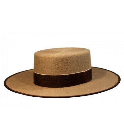 Sombrero Cordobés Cañero Lana 180 grs Nutria