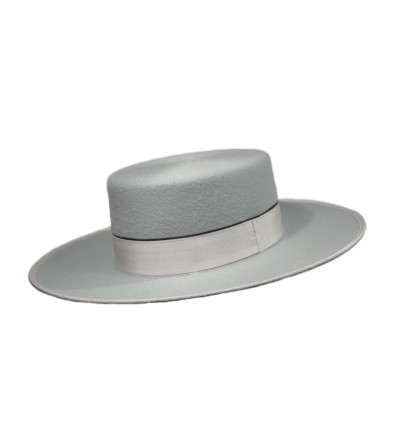 Sombrero Cordobés Cañero Lana 180 grs Plata