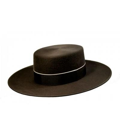 Sombrero Cordobés Cañero Lana 180 grs Marengo
