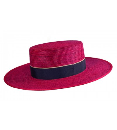 Sombrero Cordobés Cañero Palma Fucsia