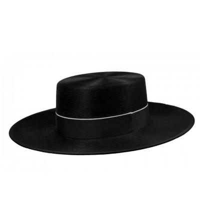 Sombrero Cordobés Cañero Lana Negro