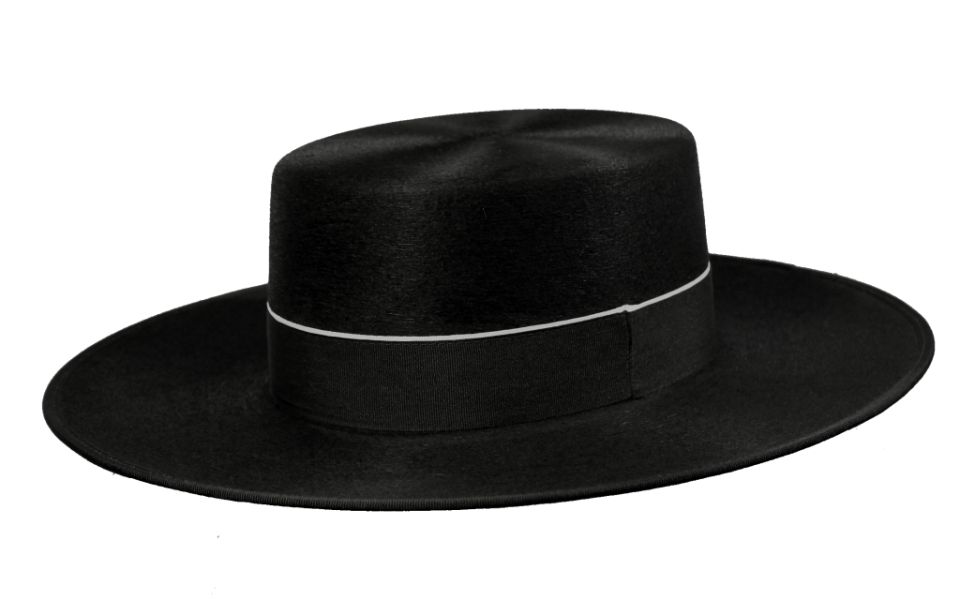 Sombrero Cordobés Cañero Lana Negro b76718b35ad