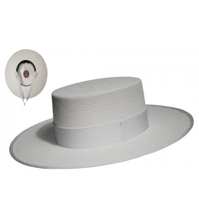 Sombrero Cordobés Cañero Ceremonia Pánama Cuenca Blanco