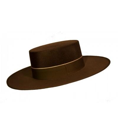 Sombrero Cordobés Dralon Marrón