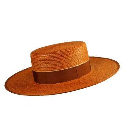 Sombrero Cordobés Cañero Palma Naranja