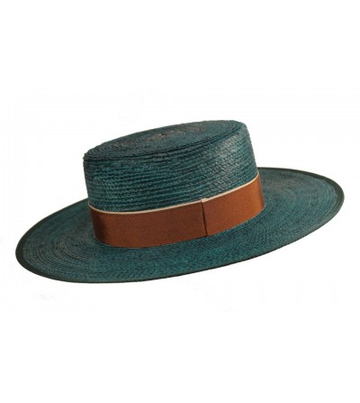 Sombrero Cordobés Cañero Palma Verde Agua