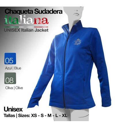 Chaqueta Sudadera Italiana Unisex