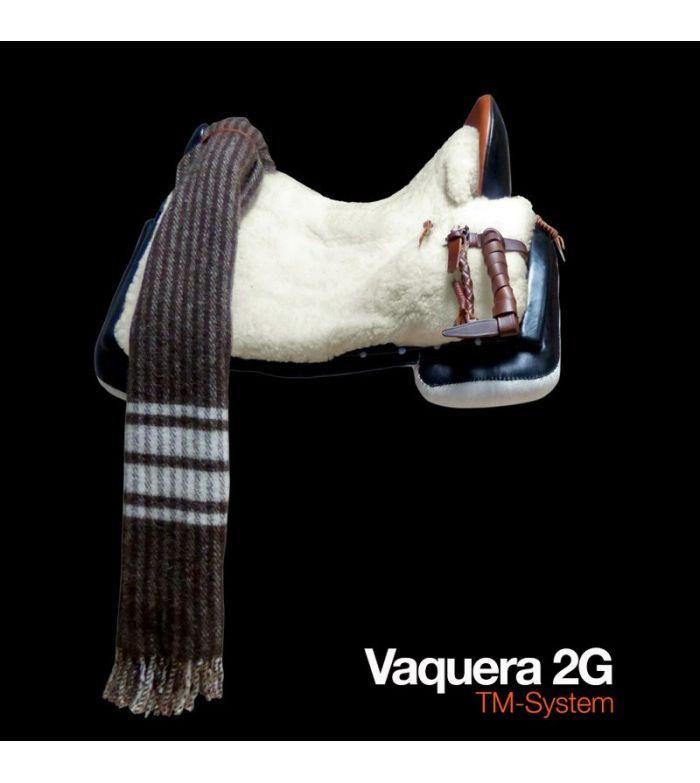 Silla Zaldi Completa Vaquera 2G Negra