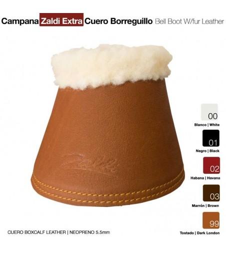 Campana Zaldi Extra Cuero-Borreguillo