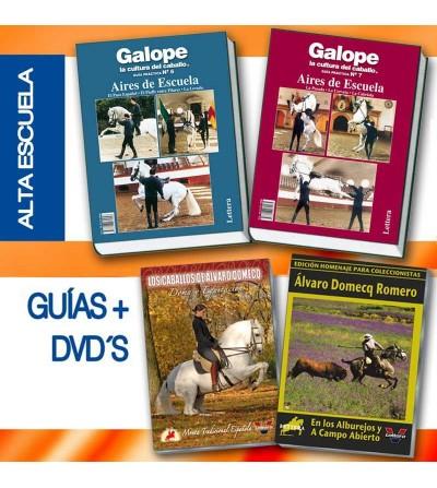 Dvd + Libro Colección Pack: Alta Escuela