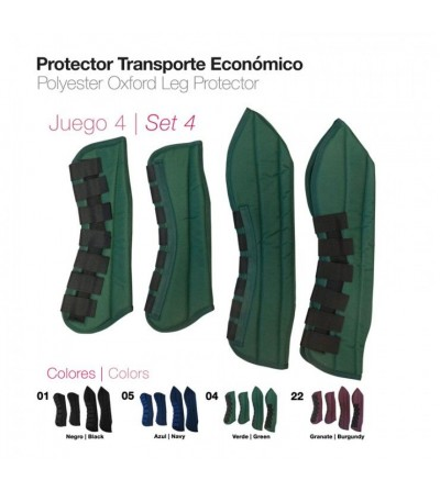 4 Protectores de Transporte Económico