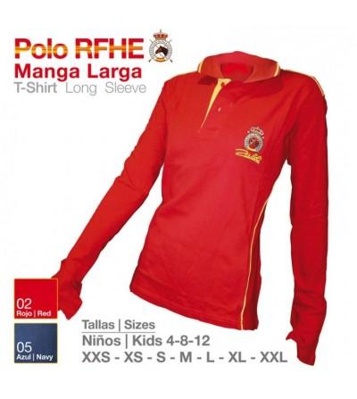 Camisa Polo R.F.H.E de Manga Larga