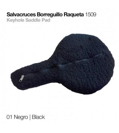 Salvacruces de Borreguillo Raqueta 1509 Negro