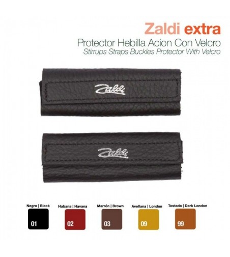 Protector Hebilla-Aciónn con Velcro Zaldi Extra