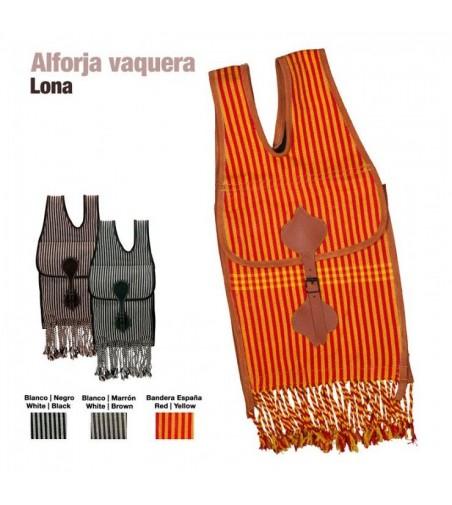 Alforja Vaquera Castecus de Lona