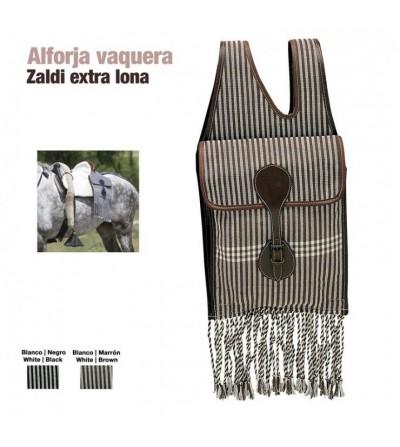 Alforja Vaquera Zaldi Extra de Lona