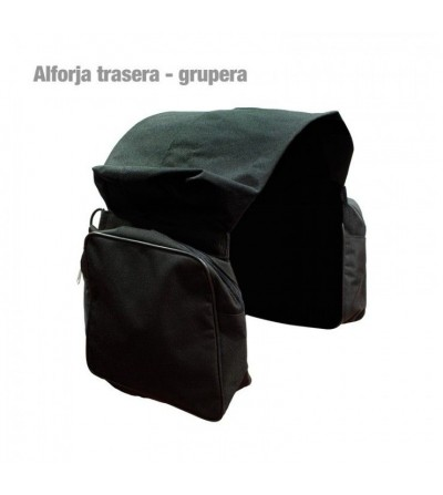 Alforja Trasera/Grupera de lona
